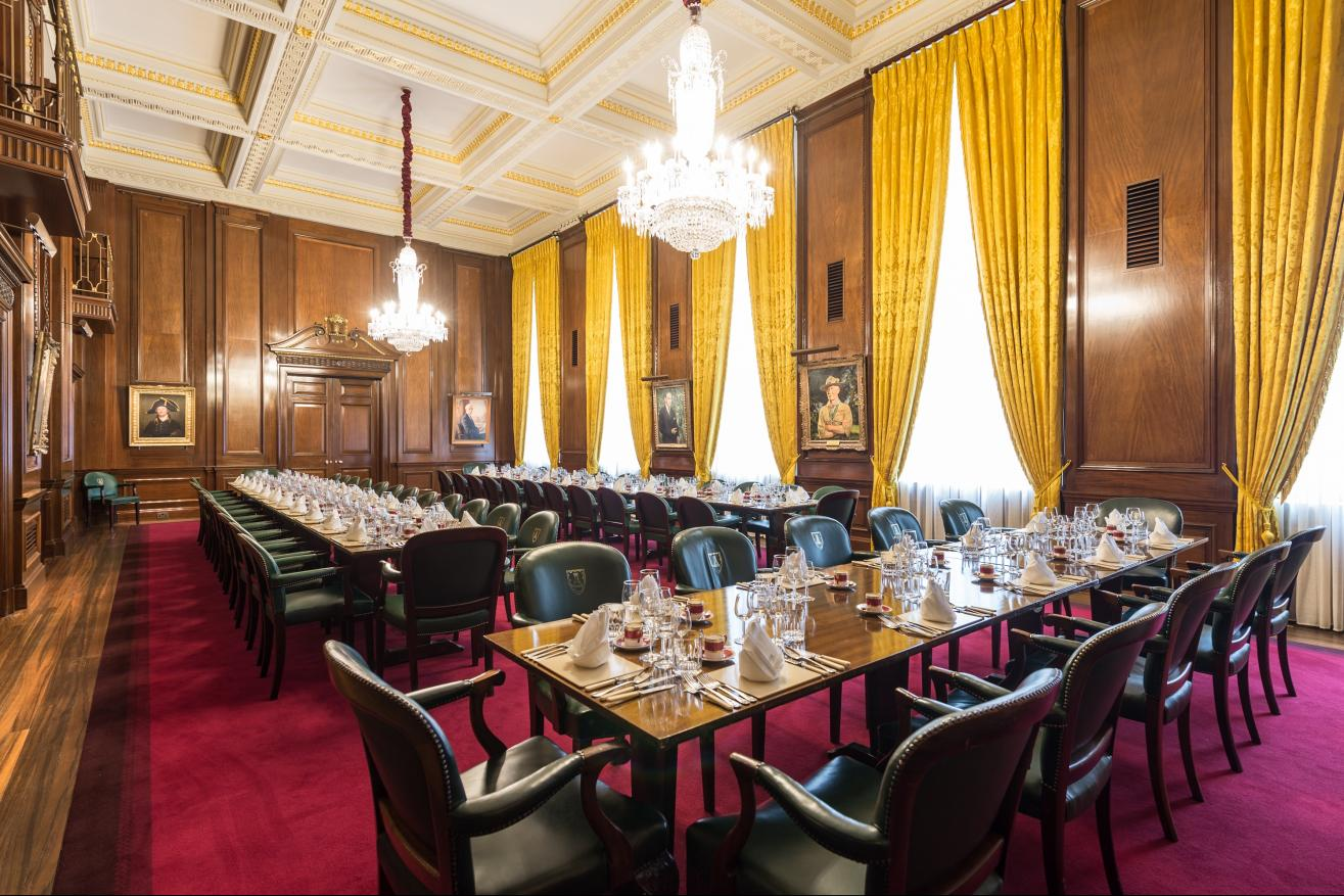 Court Dining Room Alderman's Walk Style